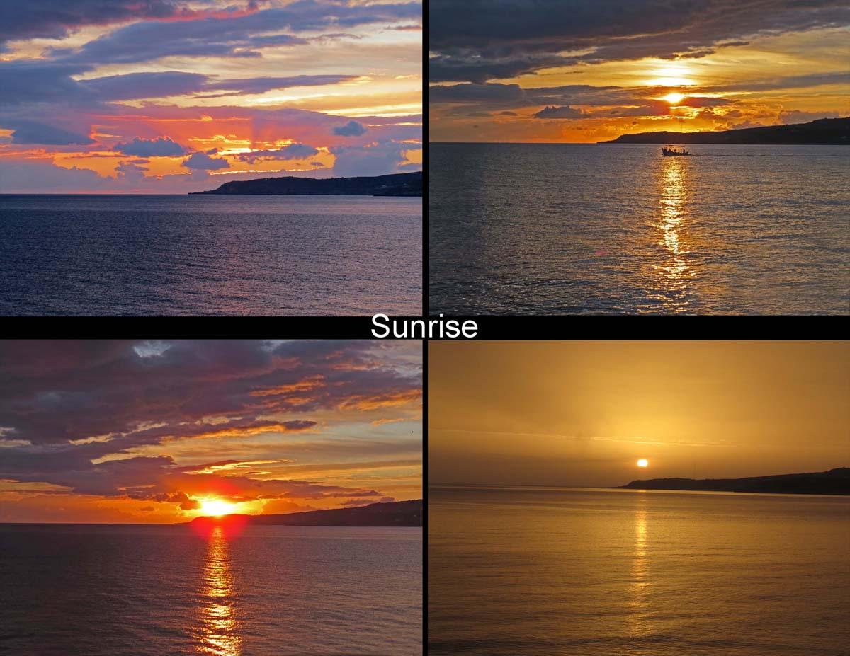 Sunrise in Kalyves