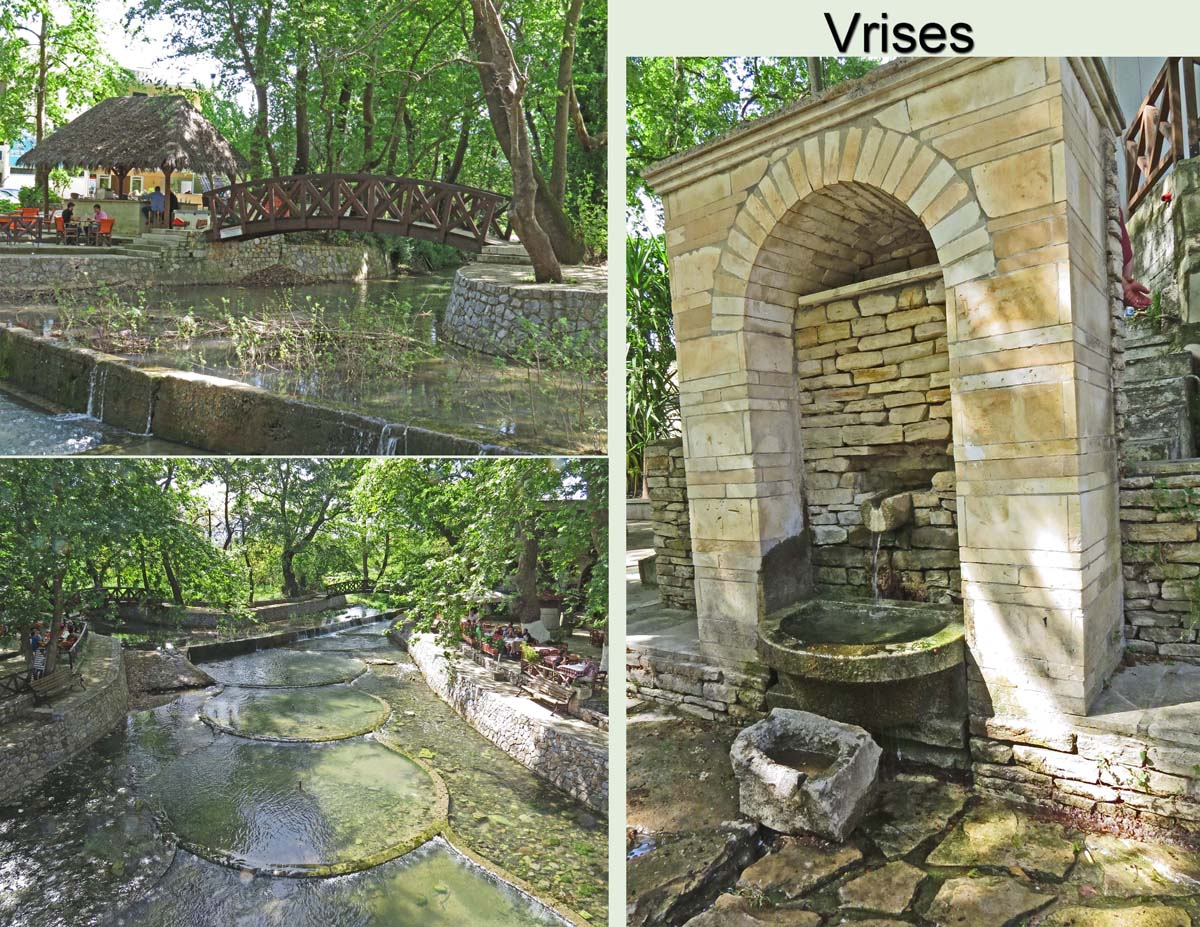 The village took its name from the many fountains found there