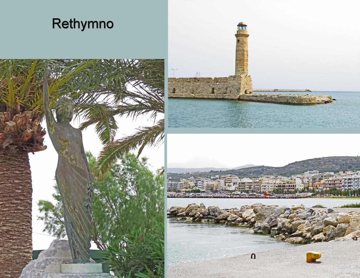Rethymno is another city in Crete
