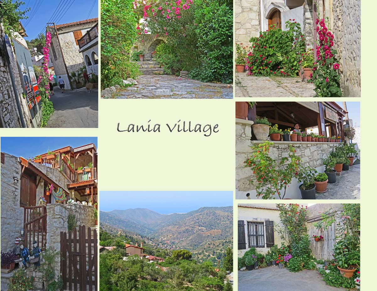 Lania, where old houses have been renovated and preserved