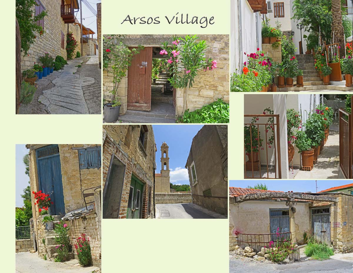 Arsos, a beautiful village inhabited by mostly older people