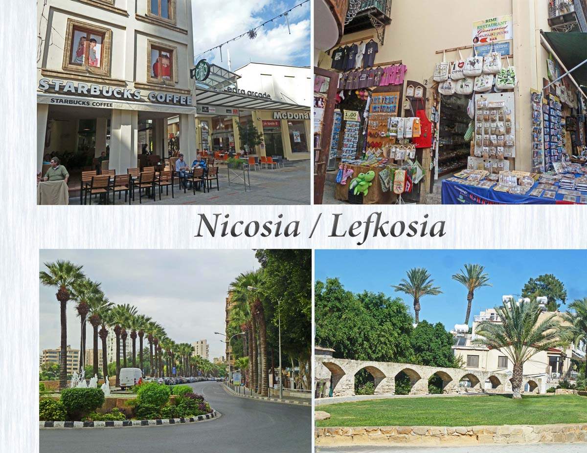 Lefkosia, the capital of Cyprus divide in a Turkish and Greek sector since 1963