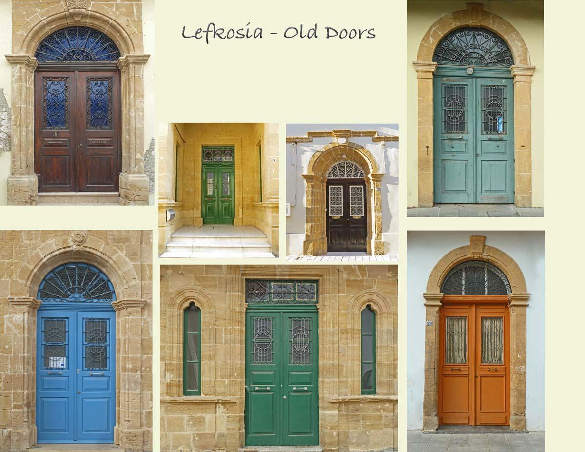 Some of my favorite old doors