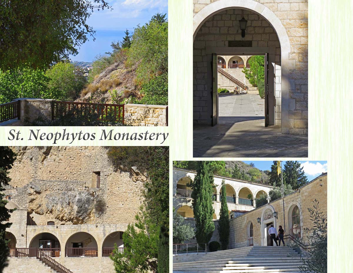 St. Neofytos Monastery a few miles from Pafos