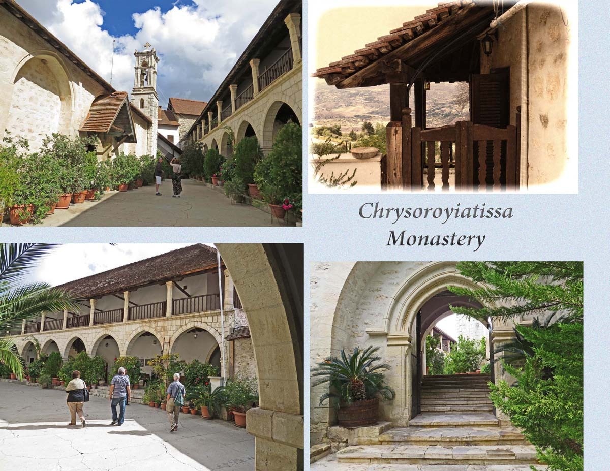 The Monastery of Chrysaliniotissa on the slopes of Troodos Mountains
