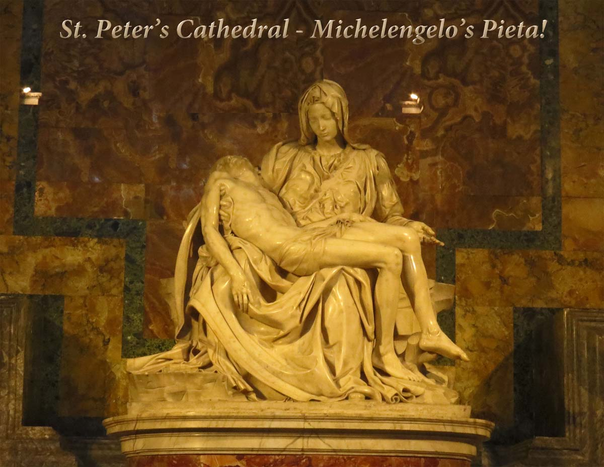 La Pieta by Michelangelo