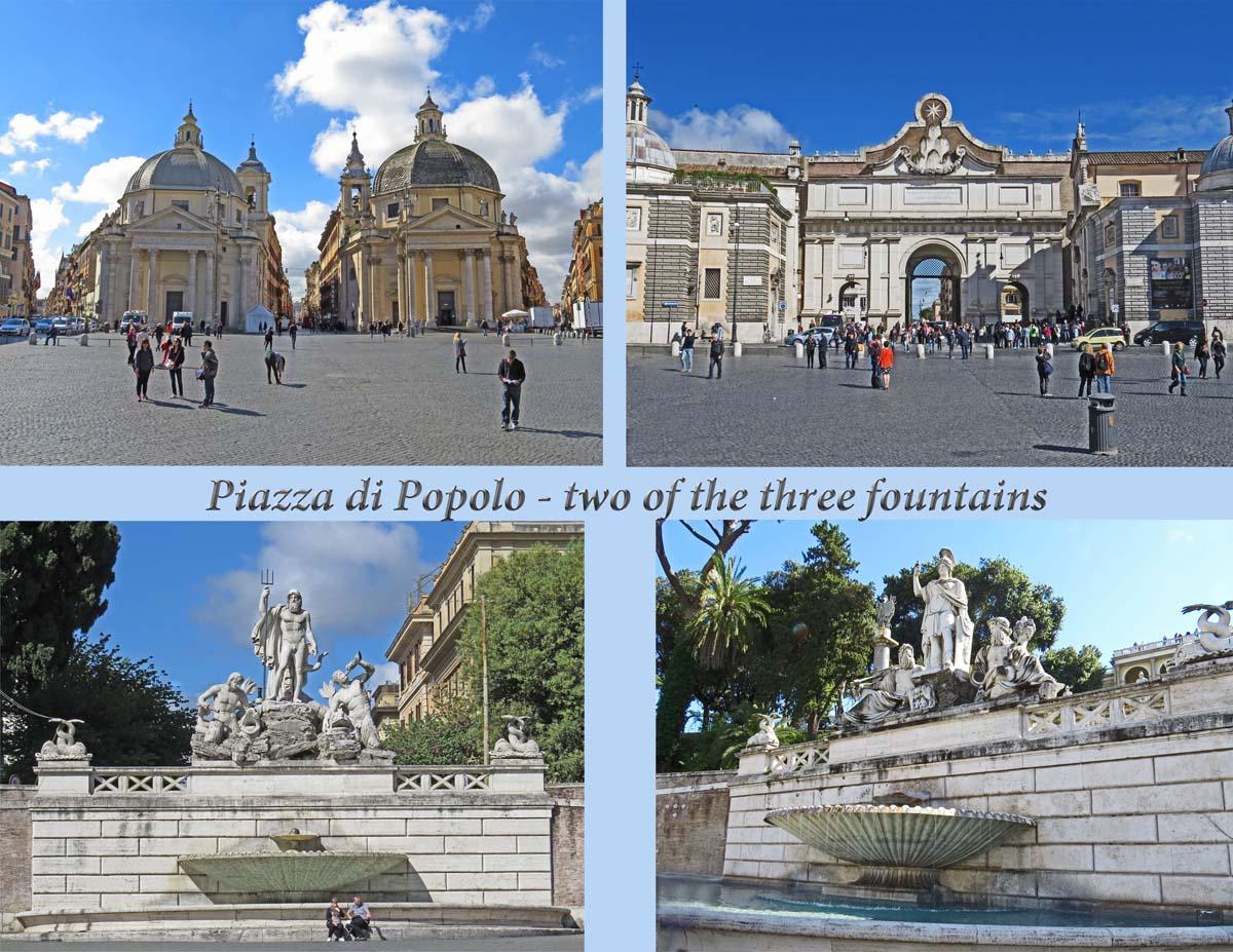 Rome - Piazza di Popolo