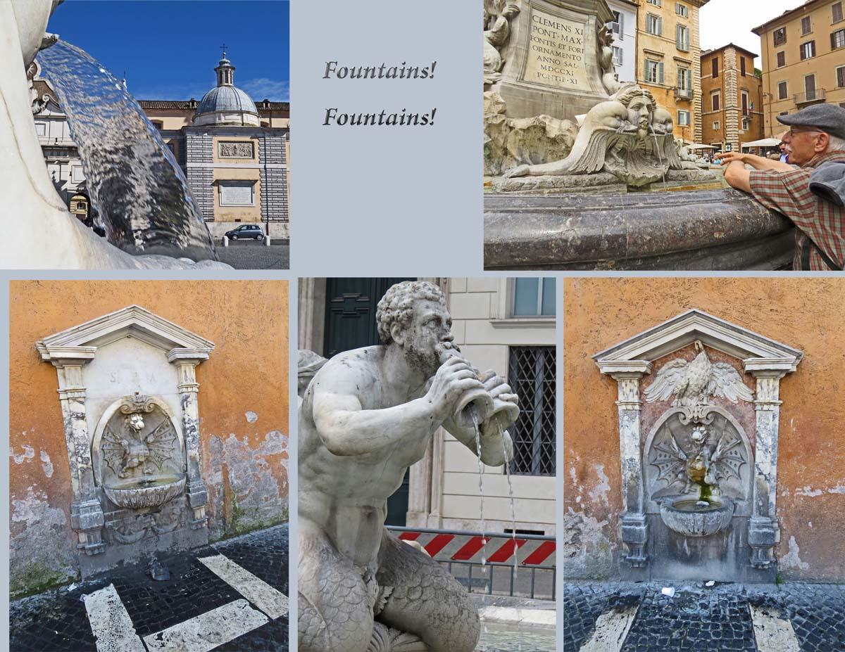Rome - Fountains