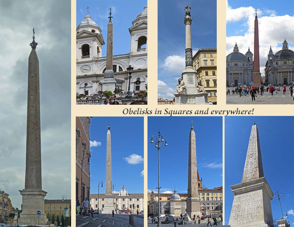 Rome - Obelisks