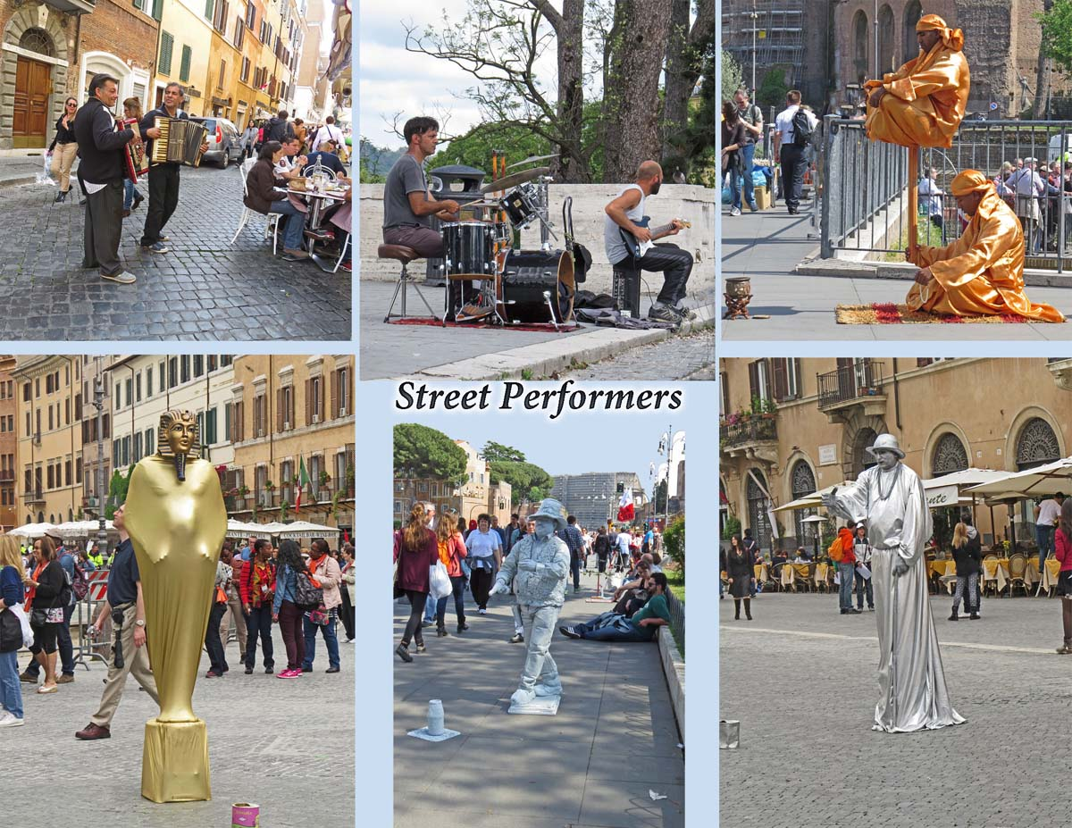 Rome - Street Performers
